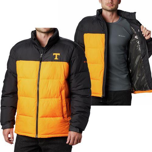 Men's Columbia Tennessee Volunteers Pike Lake Jacket (Black/Orange)