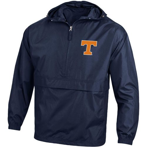 Men's Champion Tennessee Volunteers Packable Jacket (Navy)