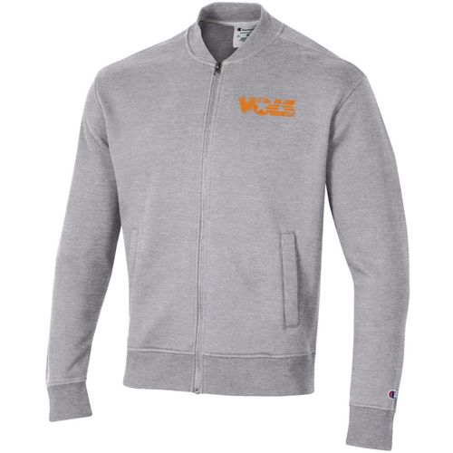 Men's Champion Tennessee Volunteers Rochester Fleece Jacket (Oxford Grey/Heather)