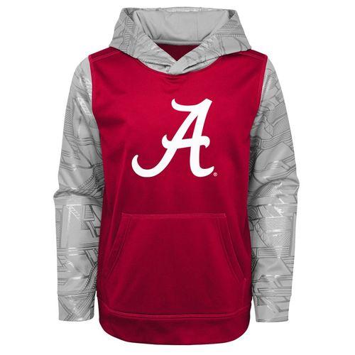 Youth Alabama Crimson Tide Statement Fleece Hoodie (Crimson/Grey)