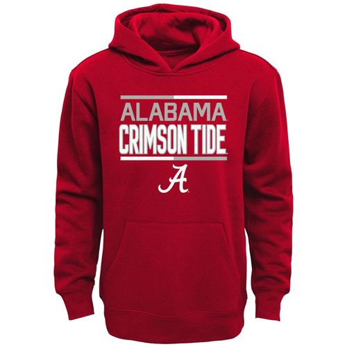 Youth Alabama Crimson Tide Fleece Hoodie (Crimson)