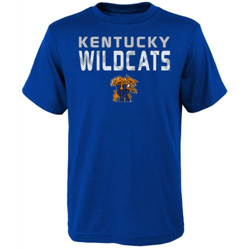 Youth Kentucky Wildcats Name T-Shirt (Royal)