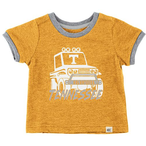 Infant Tennessee Volunteers Mud Flap T-Shirt (Orange/Grey)