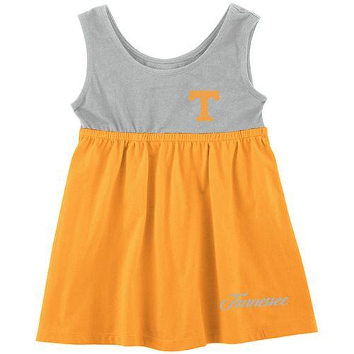 Infant Tennessee Volunteers Berlin Dress (Orange/Grey)