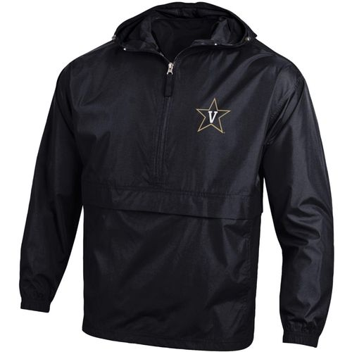 Men's Champion Vanderbilt Commodores Packable Jacket (Black)
