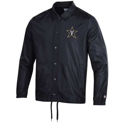 Men's Champion Vanderbilt Commodores Coaches Jacket (Black)