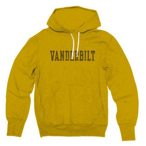 Men's Retro Brand Vanderbilt Commodores Arch Hooded Sweatshirt (Gold)