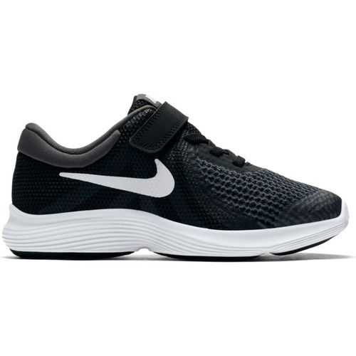 Pre School Nike Revolution 4 Wide (Black/White)