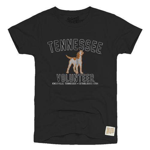 Men's Retro Brand Tennessee Volunteers Smokey Vintage T-Shirt (Black)