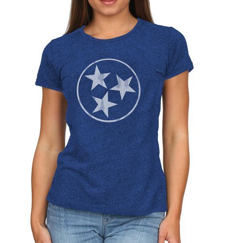 Women's Retro Brand Tri-Star Melanie T-Shirt (Royal/White)