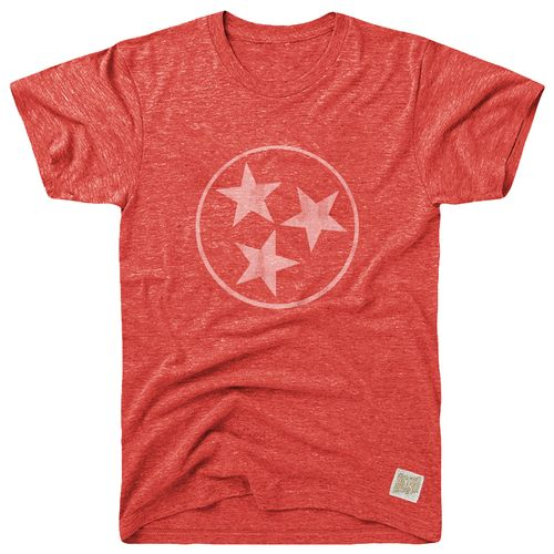 Men's Retro Brand Tri-Star Uncle Morty T-Shirt (Red)