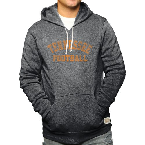 Men's Retro Brand Tennessee Volunteers Alex Football Hooded Fleece Sweatshirt (Black)