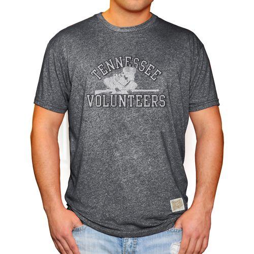 Men's Retro Brand Tennessee Volunteers Rifleman Mock Twist Shirt (Charcoal)