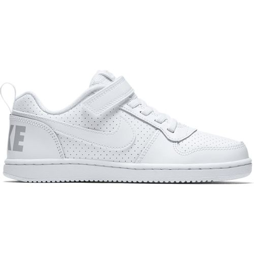 Pre School School Nike Court Borough Low (White/White)