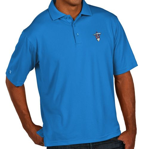Men's Tennessee Titans Dagger XLT Polo (Light Blue)