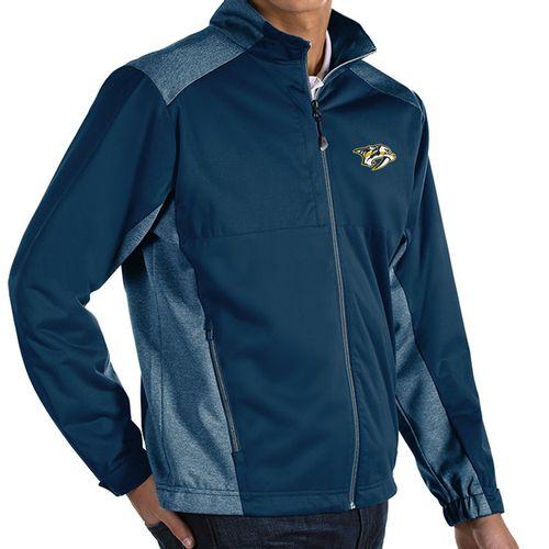 Men's Nashville Predators Revolve Primary Full-Zip Jacket (Navy/Navy)