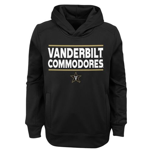 Youth Vanderbilt Commodores Performance Fleece Hoodie (Black)