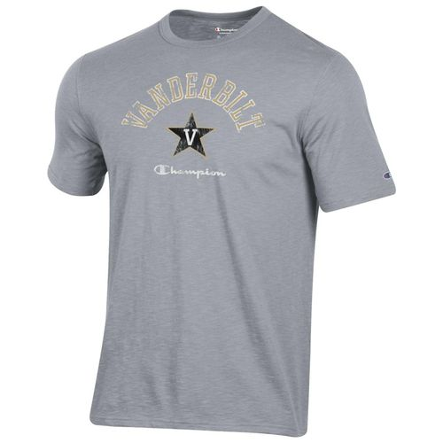 Men's Champion Vanderbilt Commodores Rochester Slub T-Shirt (Oxford)