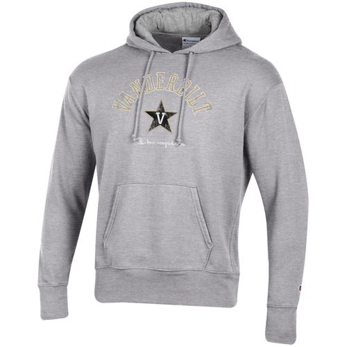 Men's Champion Vanderbilt Commodores Rochester Rochester Hooded Fleece Sweatshirt (Oxford)