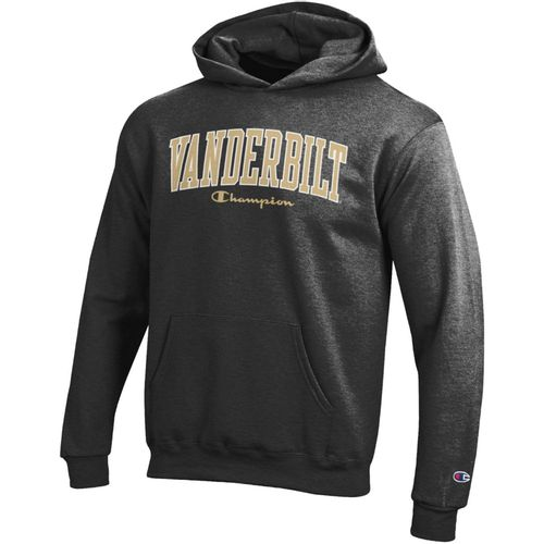 Youth Champion Vanderbilt Commodores Arch Eco Fleece Hoodie (Granite)