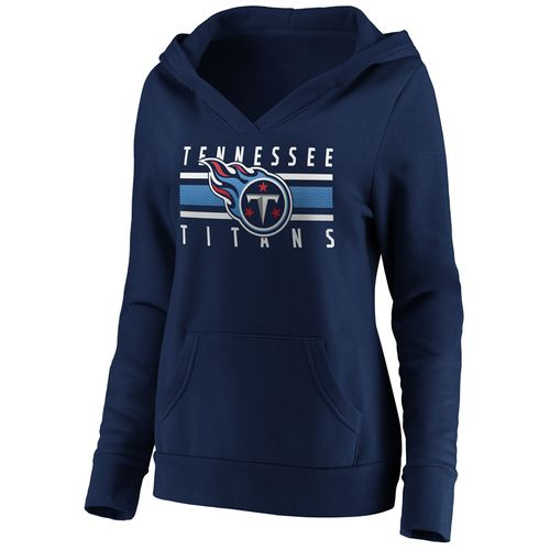 Women's Tennessee Titans Stocked Hoodie (Navy)