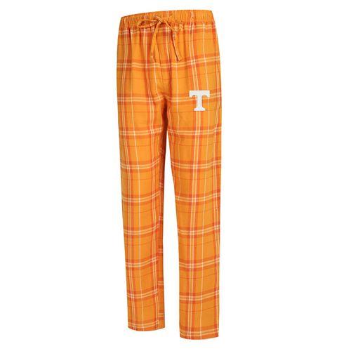 Men's Tennessee Volunteers Hillstone Flannel Pant (Orange/White)