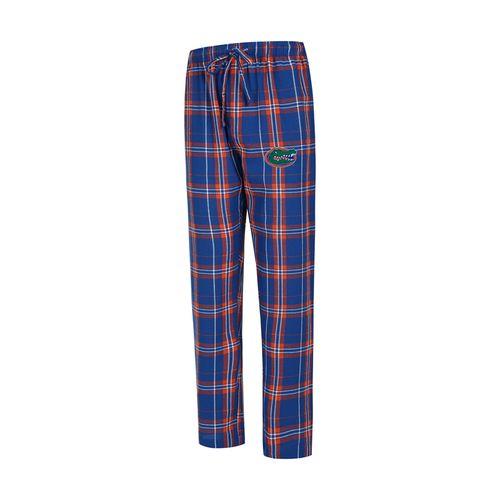 Men's Florida Gators Hillstone Flannel Pant (Royal/Orange)