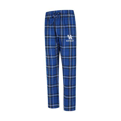 Men's Kentucky Wildcats Hillstone Flannel Pant (Royal/Black)