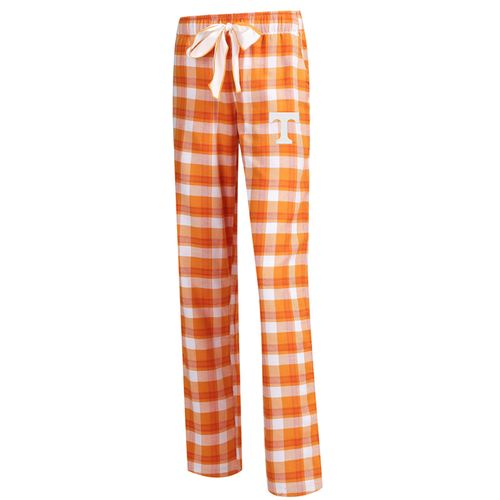 Women's Tennessee Volunteers Piedmont Pajama Pant (Orange/White)