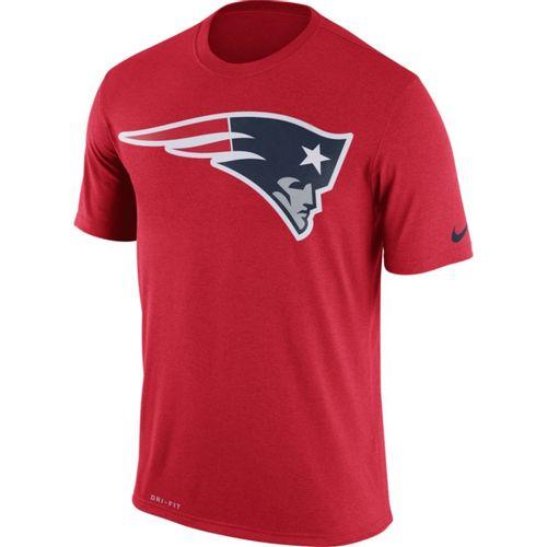 Men's Nike New England Patriots Dri-FIT Legend Logo Essential T-Shirt (Red)