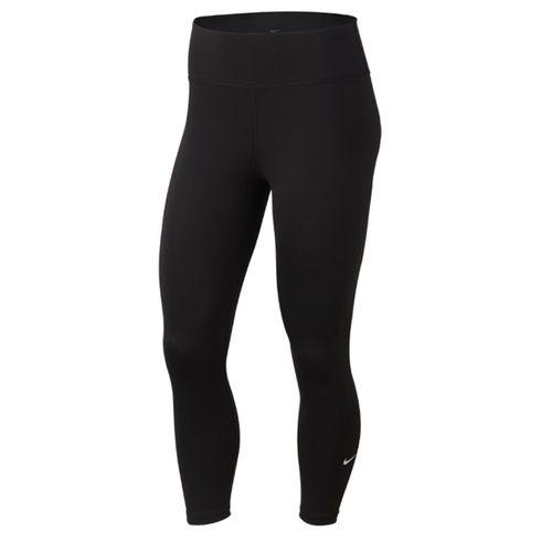 Women's Nike One Crop Pant (Black/White)