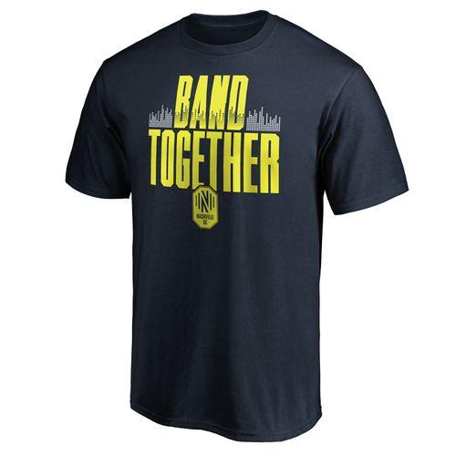 Men's Nashville Soccer Club Band Together T-Shirt (Navy)
