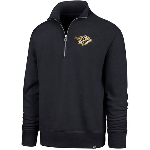 '47 Brand Men's Nashville Predators Headline Quarter-Zip Fleece (Navy)