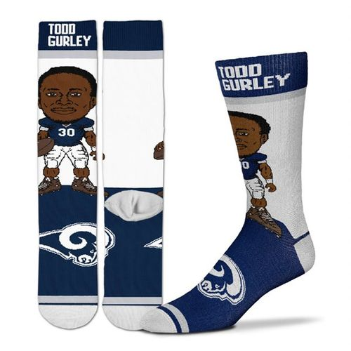 Los Angeles Rams Todd Gurley #30 Player Sock