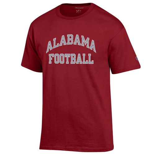 Men's Champion Alabama Crimson Tide Football Jersey T-Shirt (Cardinal)