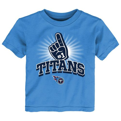 Toddler Tennessee Titans Number One T-Shirt (Light Blue)
