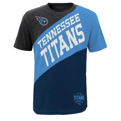 Youth Tennessee Titans Fresh Color T-Shirt (Navy)