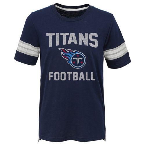 Kid's Tennessee Titans Prestige T-Shirt (Navy)