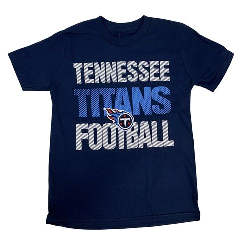Youth Tennessee Titans Light Streak T-Shirt (Navy)