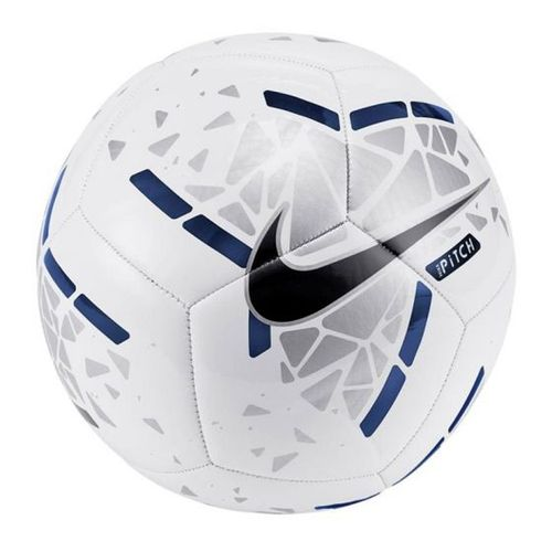 Nike Pitch Soccer Ball (White/Silver)