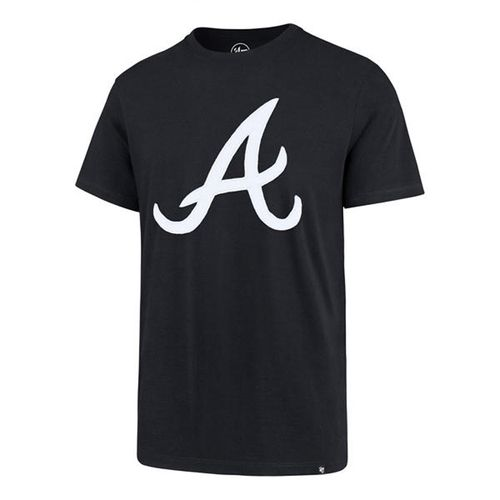 '47 Brand Men's Atlanta Braves Knockout Fieldhouse T-Shirt (Navy)