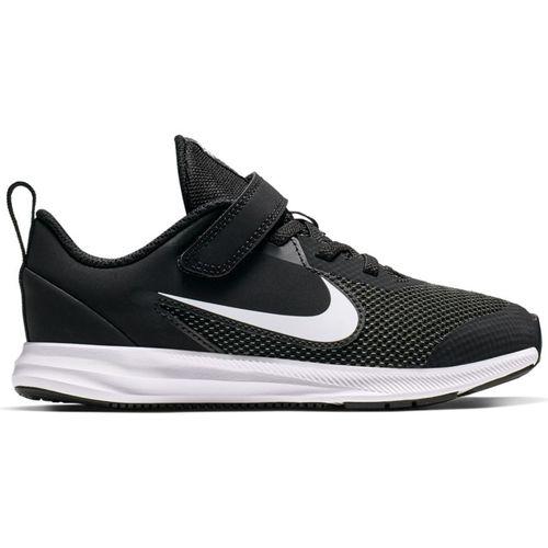 Pre School Nike Downshifter9 Wide (Black/White)