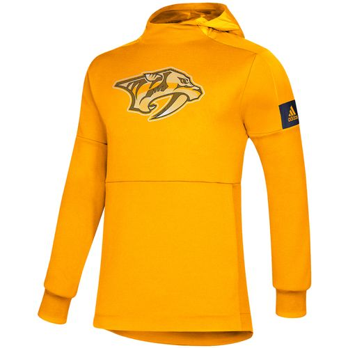 Men's Adidas Nashville Predators Game Mode Fleece Sweatshirt (Gold)