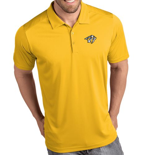 Men's Antigua Nashville Predators Primary Tribute Polo (Gold)