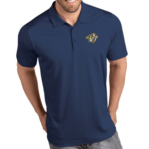 Men's Antigua Nashville Predators Primary Tribute Polo (Navy)