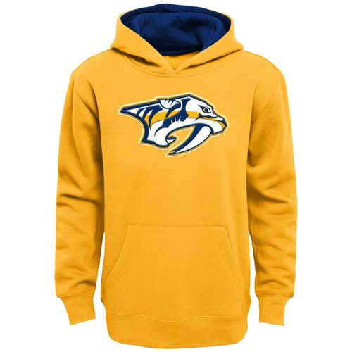 Kid's Nashville Predators Primary Hooded Fleece (Gold)
