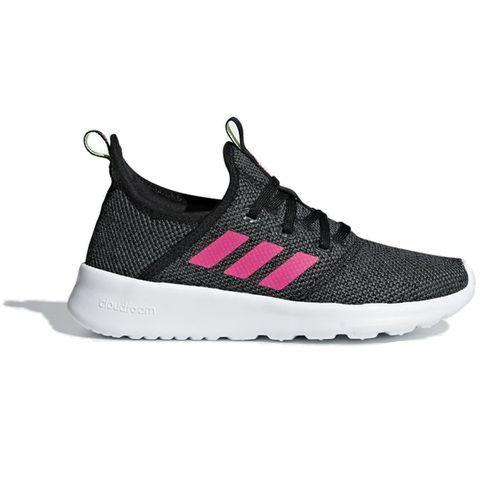 Grade School Adidas Cloudfoam Pure (Black/Pink)