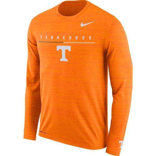 Men's Nike Tennessee Volunteers Dri-FIT Velocity Legend Long Sleeve Shirt (Orange)