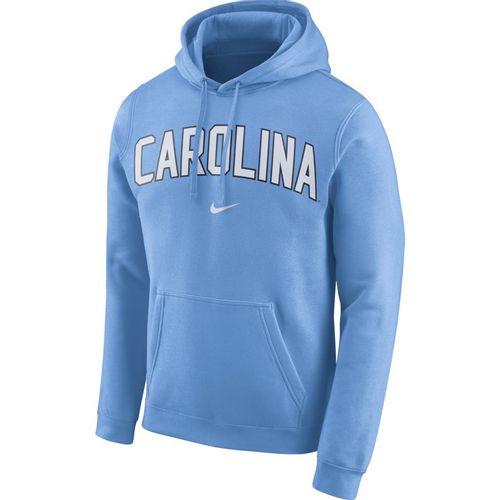 Men's Nike North Carolina Tar Heels Club Arch Hooded Sweatshirt (Valor Blue)