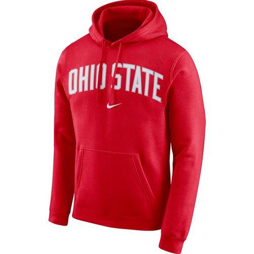 Men's Nike Ohio State Buckeyes Club Arch Hooded Sweatshirt (Red)